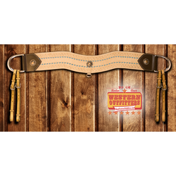 Cole Younger Headstall and Tripping Collar Set