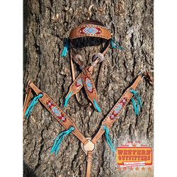 Mesa Headstall and Breast Collar Set