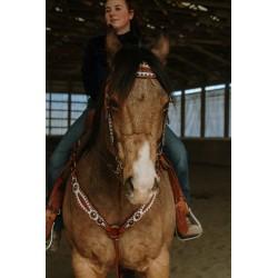 Turquoise Cross Concho